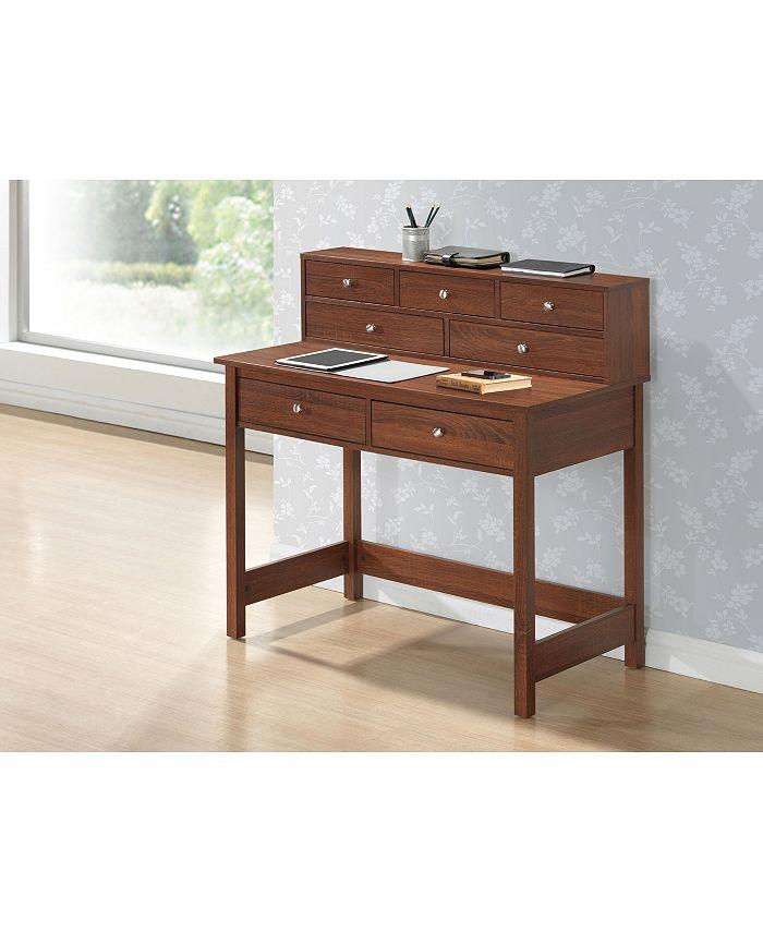 RTA Products - Techni Mobili Elegant Writing Desk, Quick Ship