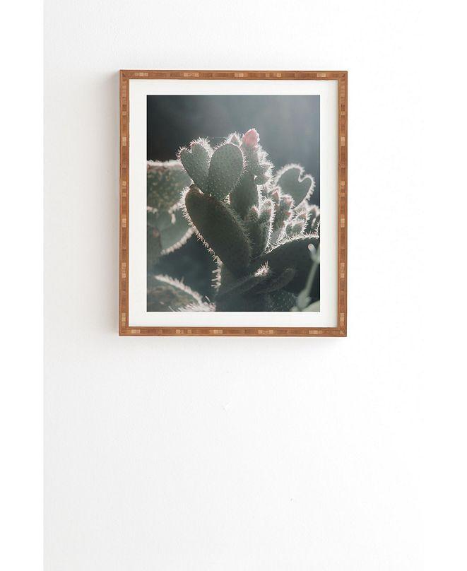 Deny Designs Cactus Love Framed Wall Art
