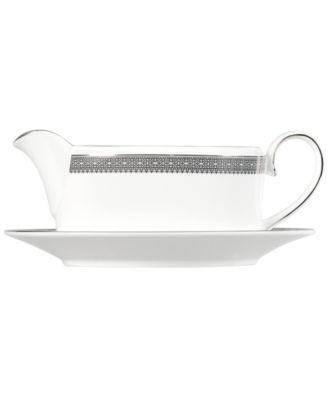 Vera Wang Wedgwood Dinnerware, Lace Gravy Boat Stand