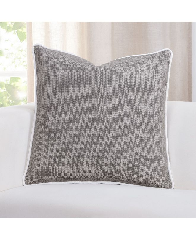 "Revolution Plus Everlast Herringbone 16"" Designer Throw Pillow"