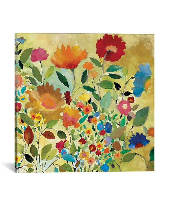 """iCanvas """"Summer Meadow"""" By Kim Parker Gallery-Wrapped Canvas Print - 12"""" x 12"""" x 0.75"""""""