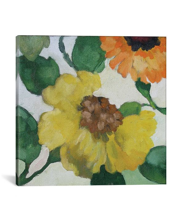 """iCanvas """"Gabrielle'S Garden Ii"""" By Kim Parker Gallery-Wrapped Canvas Print - 37"""" x 37"""" x 0.75"""""""