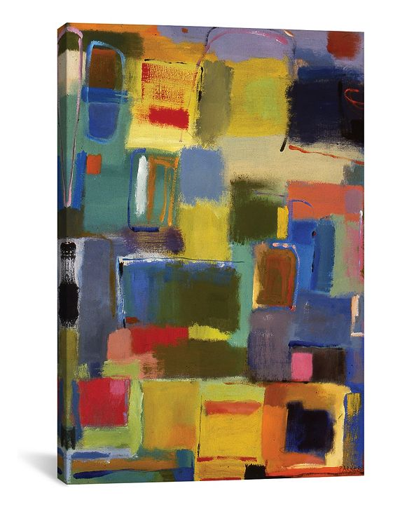 "iCanvas ""Color Essay With Grey"" By Kim Parker Gallery-Wrapped Canvas Print - 18"" x 12"" x 0.75"""