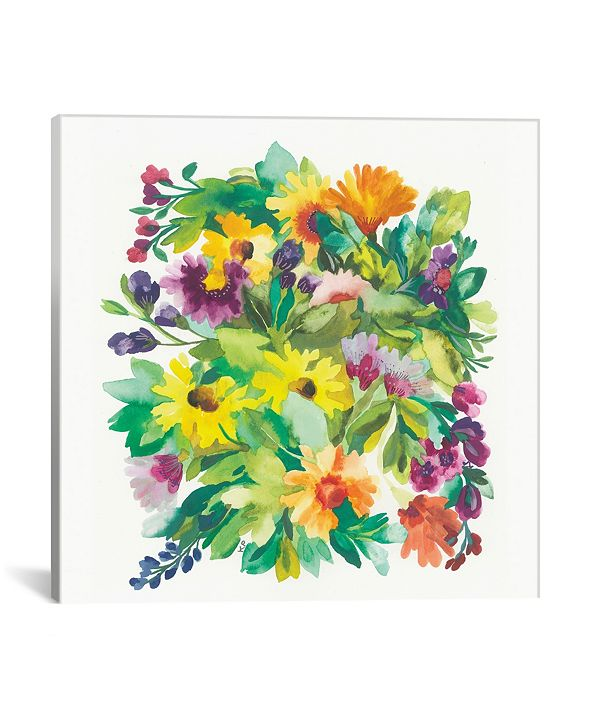 """iCanvas """"French Bouquet"""" By Kim Parker Gallery-Wrapped Canvas Print - 12"""" x 12"""" x 0.75"""""""