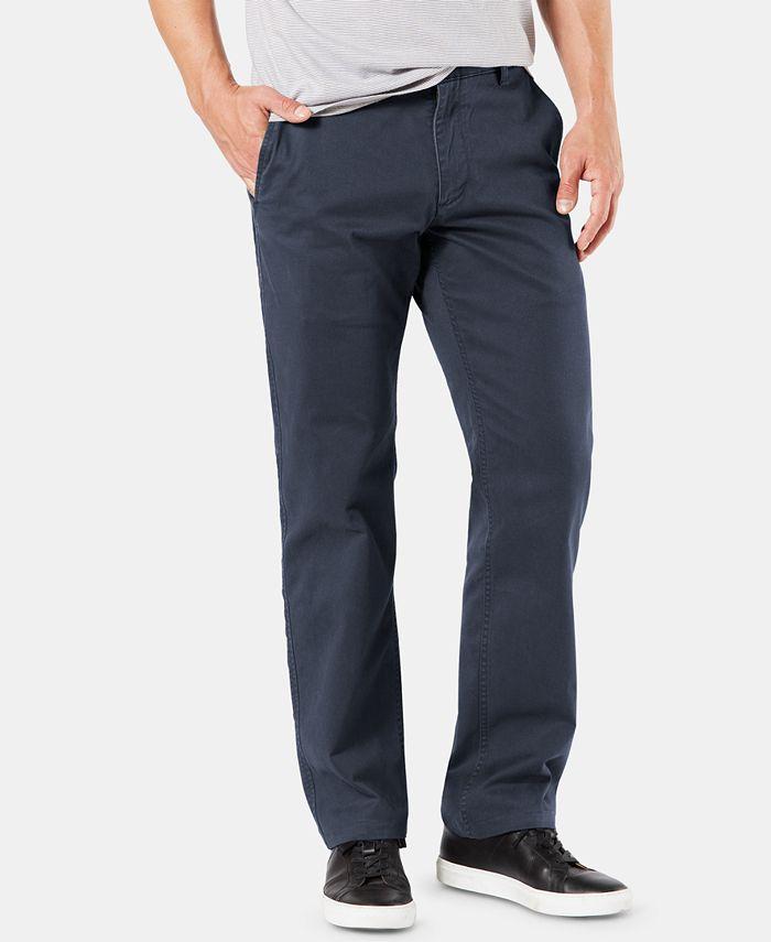 Dockers - Men's Original Straight-Fit Performance Stretch Temperature-Regulating Khaki Tech Pants