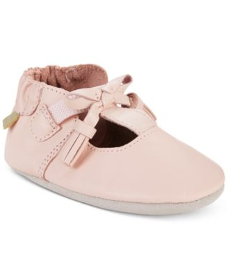 Robeez Baby Girls Meghan Pink Soft Sole