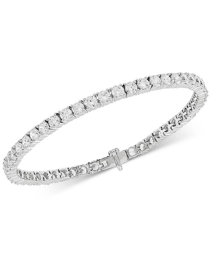 Arabella - Cubic Zirconia Tennis Bracelet in Sterling Silver