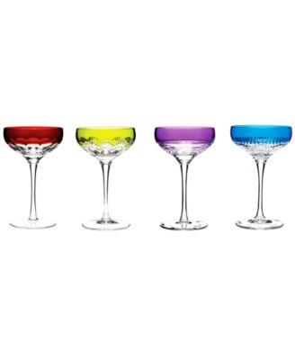 Waterford Stemware, Mixology Assorted Coupes, Set of 4