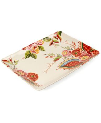Vida by Espana Dinnerware, Rose Print...