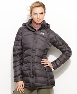 The North Face Jacket, Transit Hooded Down Puffer - Coats - Women