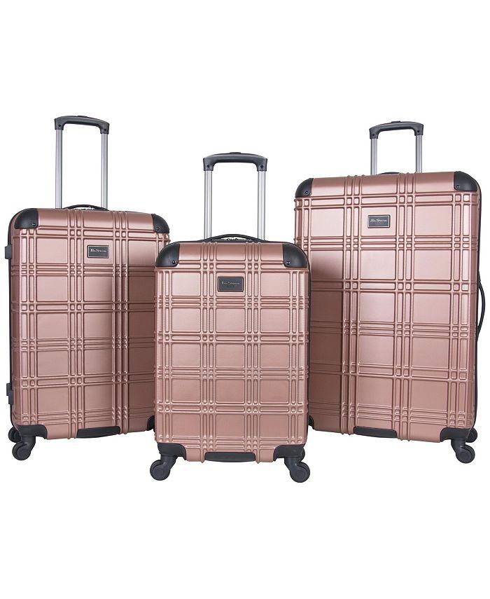 Ben Sherman - Nottingham 3-Piece Spinner Suitcase Set