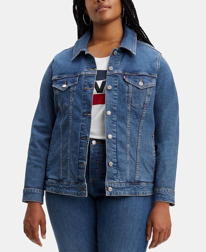 Levi's - Plus Size Trucker Denim Jacket