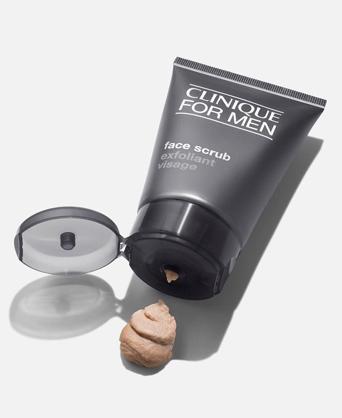 Clinique For Men Face Scrub 3 4 Oz Reviews Skin Care Beauty Macy S