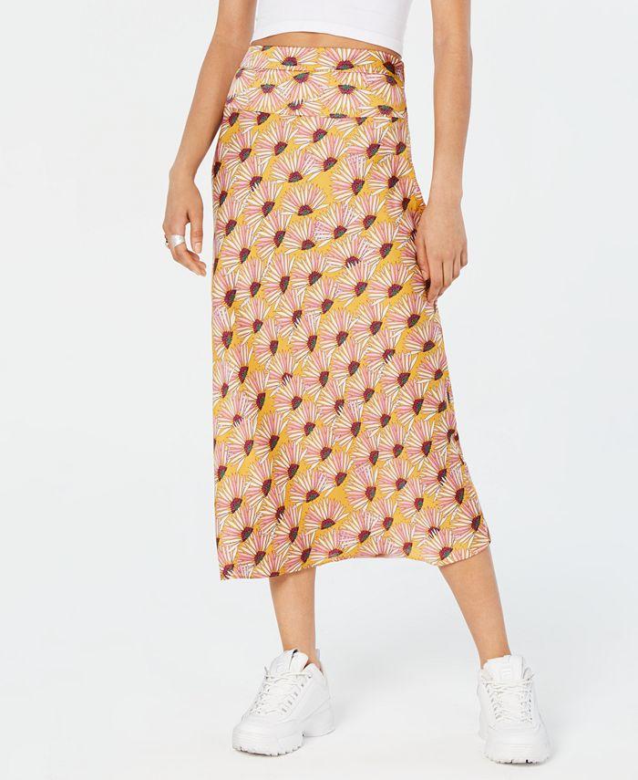 Free People - Normani Bias-Printed Skirt
