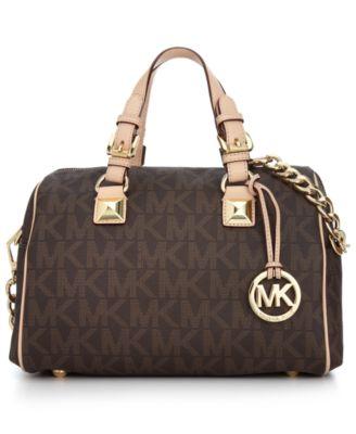 a9b67ec8d2997 michael kors tasche grayson schwarz fulton quilted leather satchel ...