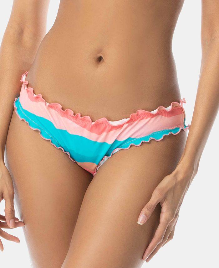 SUNDAZED - Mermaid Ruffle-Edge Bikini Bottoms