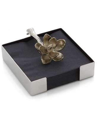 Michael Aram Lotus Blossom Cocktail Napkin Holder