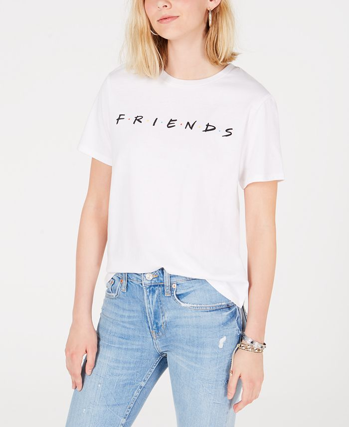 Love Tribe - Juniors' Friends Cotton Graphic T-Shirt