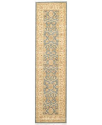 "Orwyn Orw6 Blue 2' 7"" x 10' Runner Area Rug"