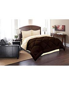 Elegant Comfort All - Season Down Alternative Luxurious Reversible 3-Piece Comforter Set King/California King