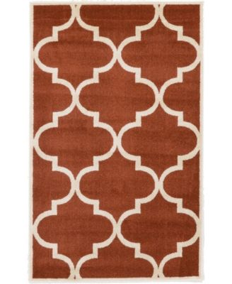 "Arbor Arb3 Rust Red 3' 3"" x 5' 3"" Area Rug"