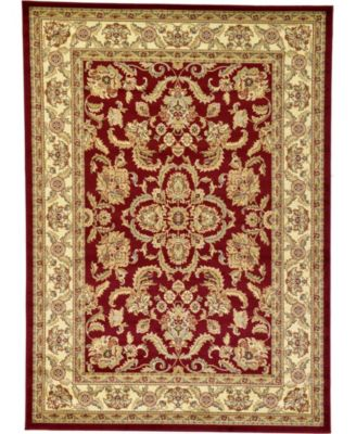 Passage Psg5 Red 7' x 10' Area Rug