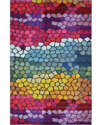 "Newwolf New2 Multi 10' 6"" x 16' 5"" Area Rug"