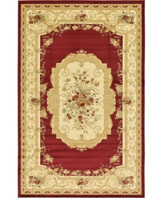 "Belvoir Blv3 Red 10' 6"" x 16' 5"" Area Rug"