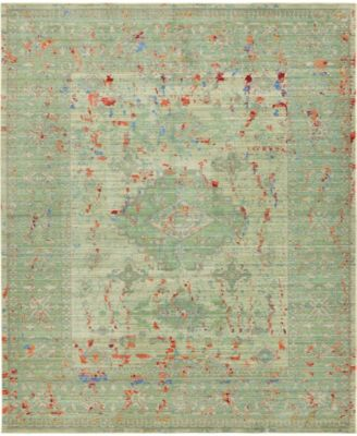 Malin Mal7 Green 8' x 10' Area Rug