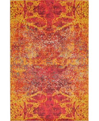"""Newwolf New3 Red 10' 6"""" x 16' 5"""" Area Rug"""
