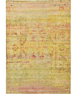 Malin Mal8 Yellow 6' x 9' Area Rug