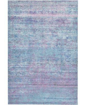 Malin Mal8 Light Blue 5' x 8' Area Rug