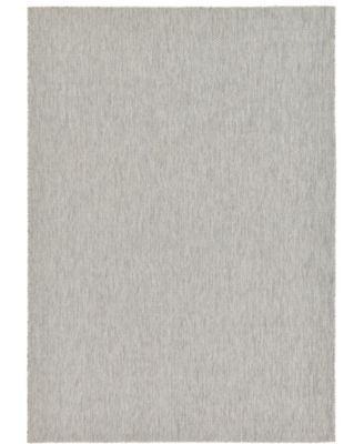 """Pashio Pas6 Light Gray 8' x 11' 4"""" Area Rug"""