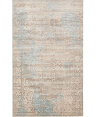 Caan Can4 Taupe 5' x 8' Area Rug