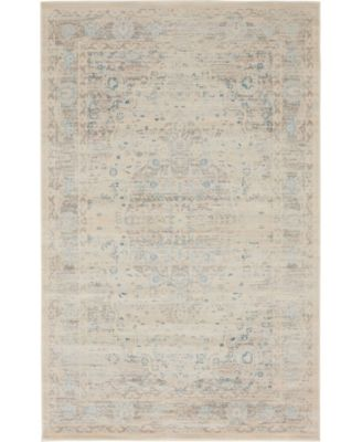 Caan Can2 Taupe 4' x 6' Area Rug
