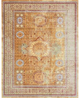 Malin Mal1 Gold 10' x 13' Area Rug