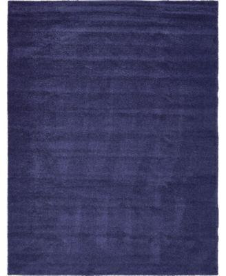 Uno Uno1 Navy Blue 10' x 13' Area Rug