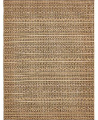 Pashio Pas6 Light Brown 9' x 12' Area Rug