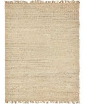 Braided Tones Brt3 Natural/White 9' x 12' Area Rug