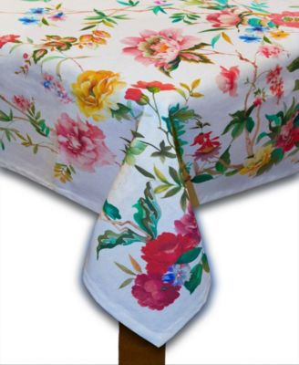 Tiger Lily Cotton tablelcoth