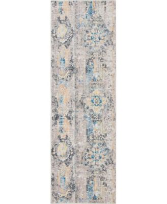 "Nira Nir1 Light Brown 2' 7"" x 8' 2"" Runner Area Rug"