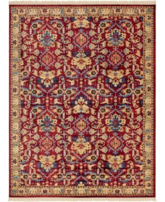 Borough Bor1 Red 9' x 12' Area Rug
