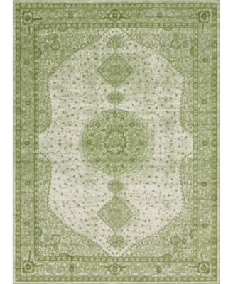Mobley Mob1 Green 9' x 12' Area Rug