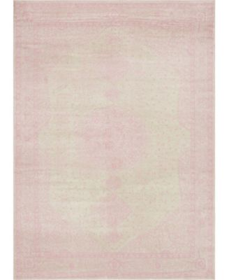 Mobley Mob1 Pink 9' x 12' Area Rug