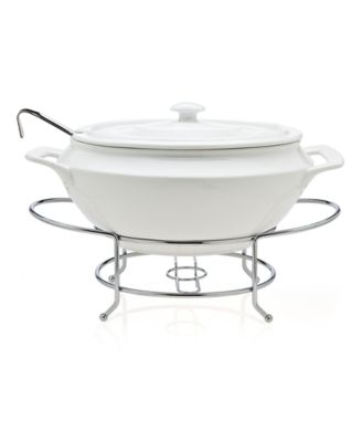 Godinger Serveware, Cucina Soup Tureen with Ladle