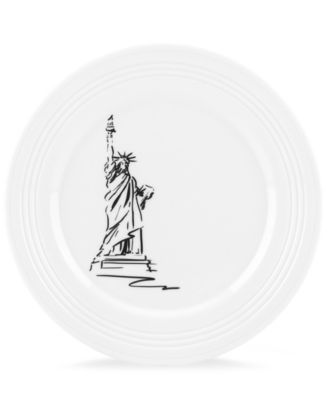 Lenox Dinnerware, Tin Can Alley New York Accent Plate