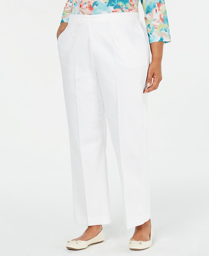 Alfred Dunner - Plus Size Straight-Leg Pants