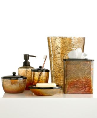 Paradigm Bath Accessories, Lava Soap and Lotion Dispenser