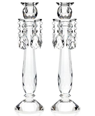 CLOSEOUT! Lighting by Design Candle Holders, Set of 2 Old Vienna Candlesticks