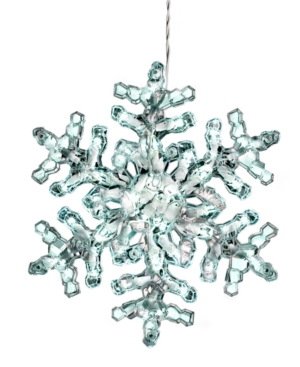 Kurt Adler Christmas Decor, Snowflake Light